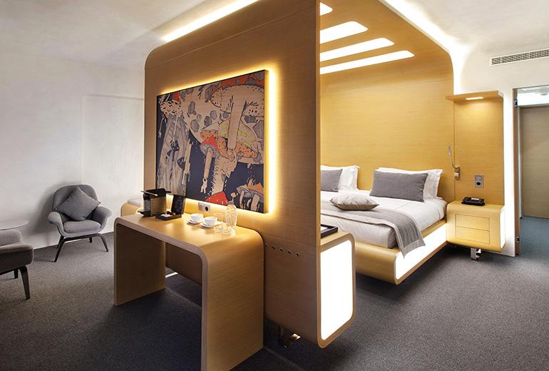 スタンダートホテル・モスクワの部屋