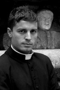 2006年10月のイケメン神学生。