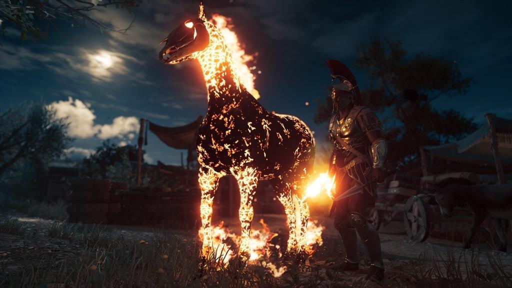 オデッセイ 馬 クリード アサシン 闇の馬