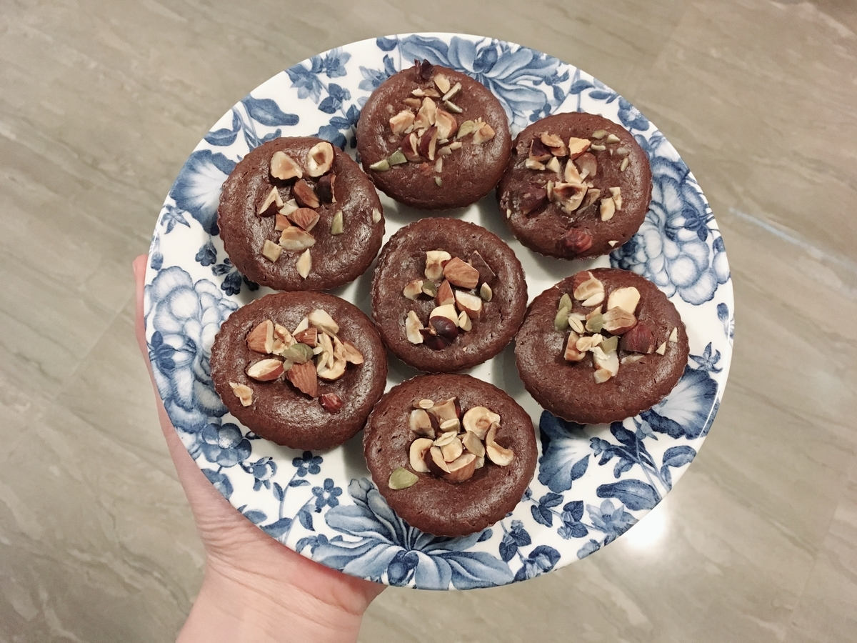 No Flour Added Rich Chocolate Cupcakes
