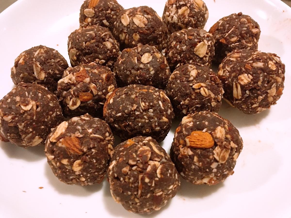 Vegan Nutritious Chocolate Energy Balls