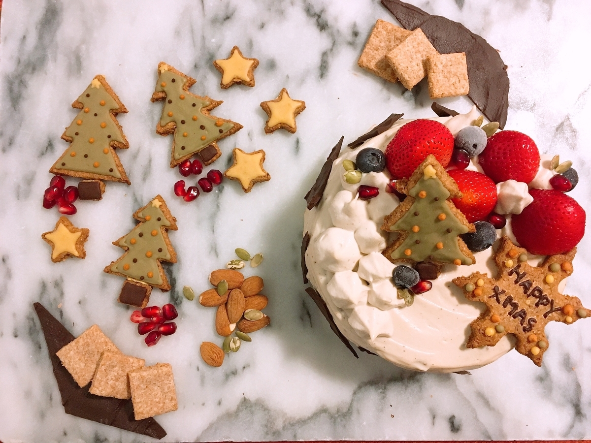 Vegan Christmas Chocolate Cake