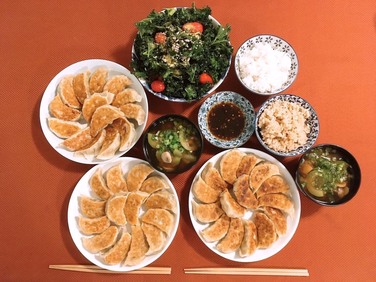 Vegan Gyoza Dumplings