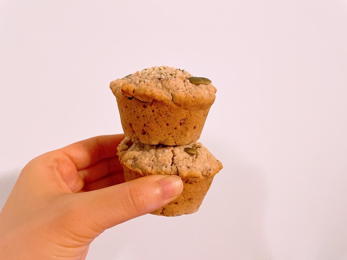 Vegan Gluten Free Walnut Muffins