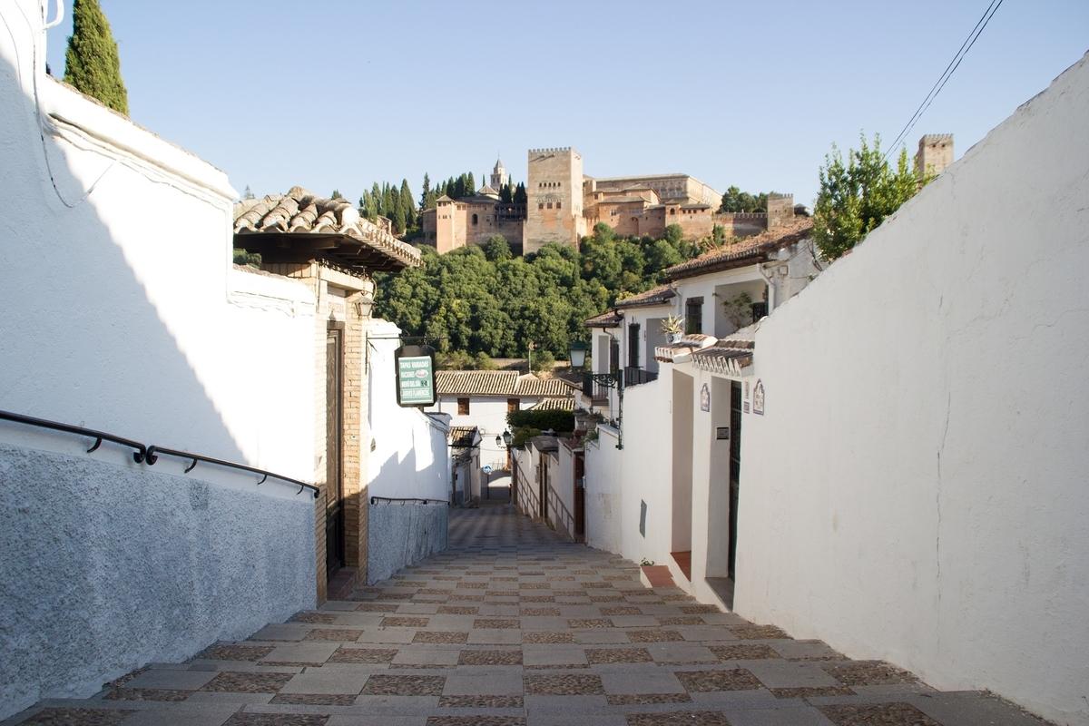 around the Alhambra
