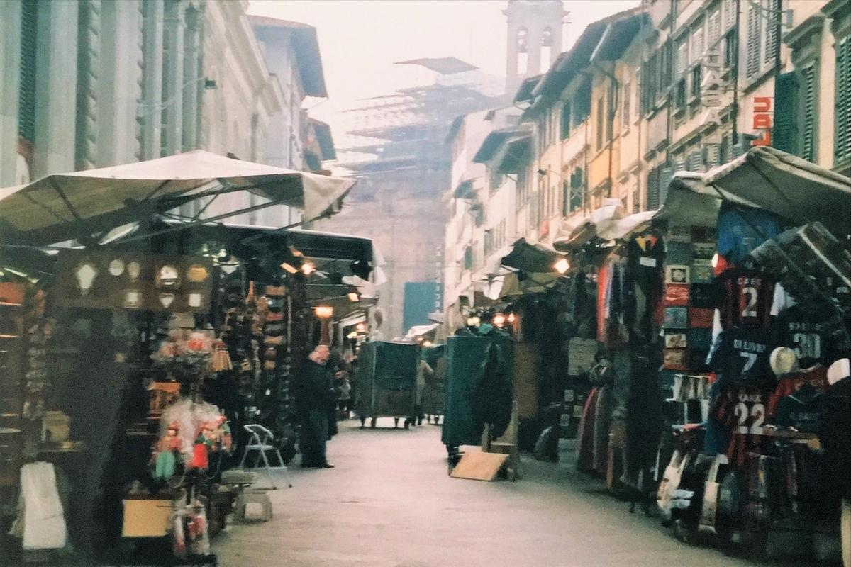 around the market