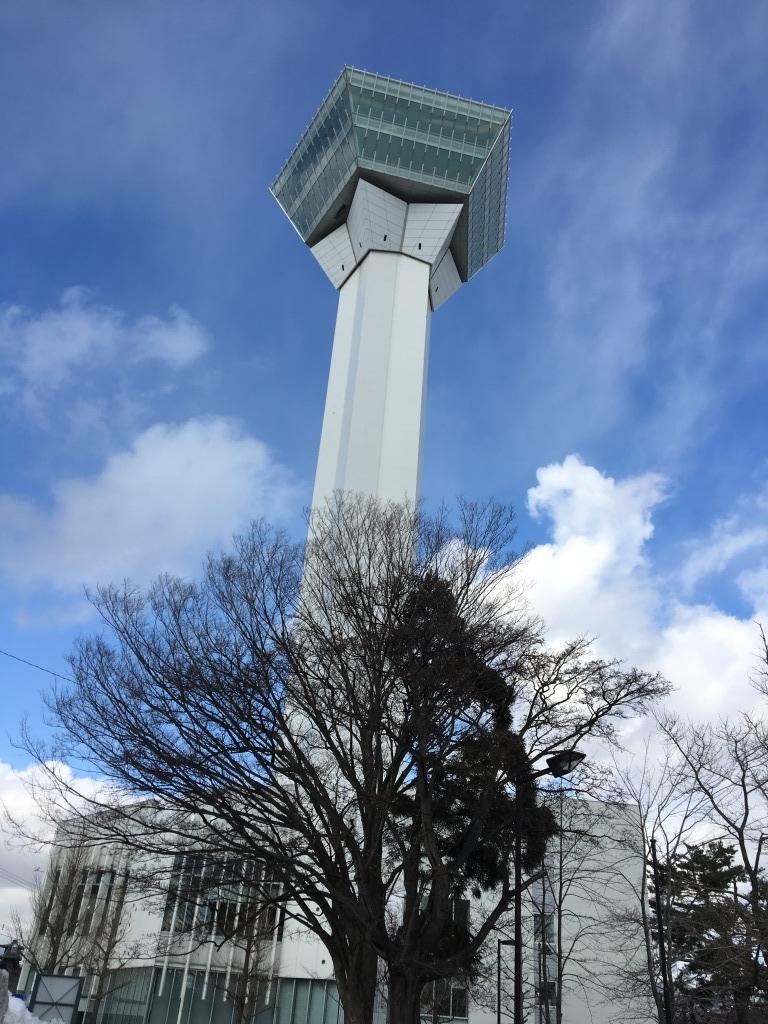 Goryokaku tower