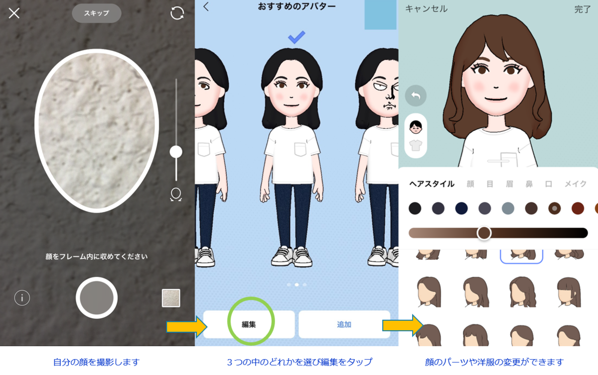 How to create LINE Avatar