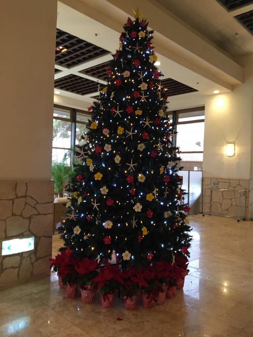 Miyakojima Tokyu Hotel Christmas Tree