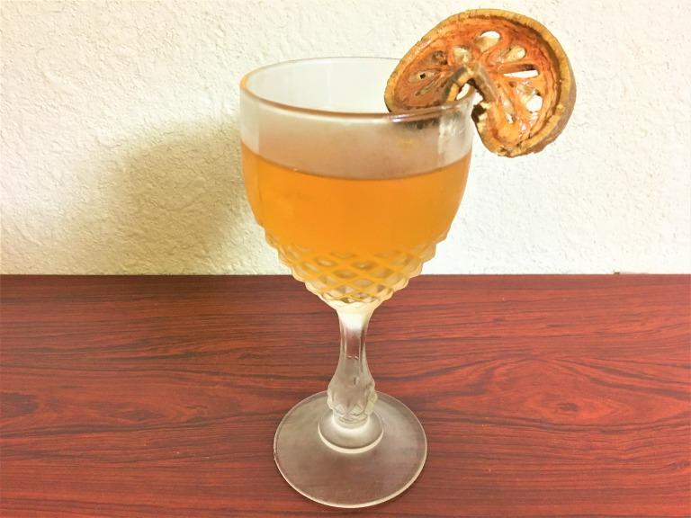 iced Bael fruit tea