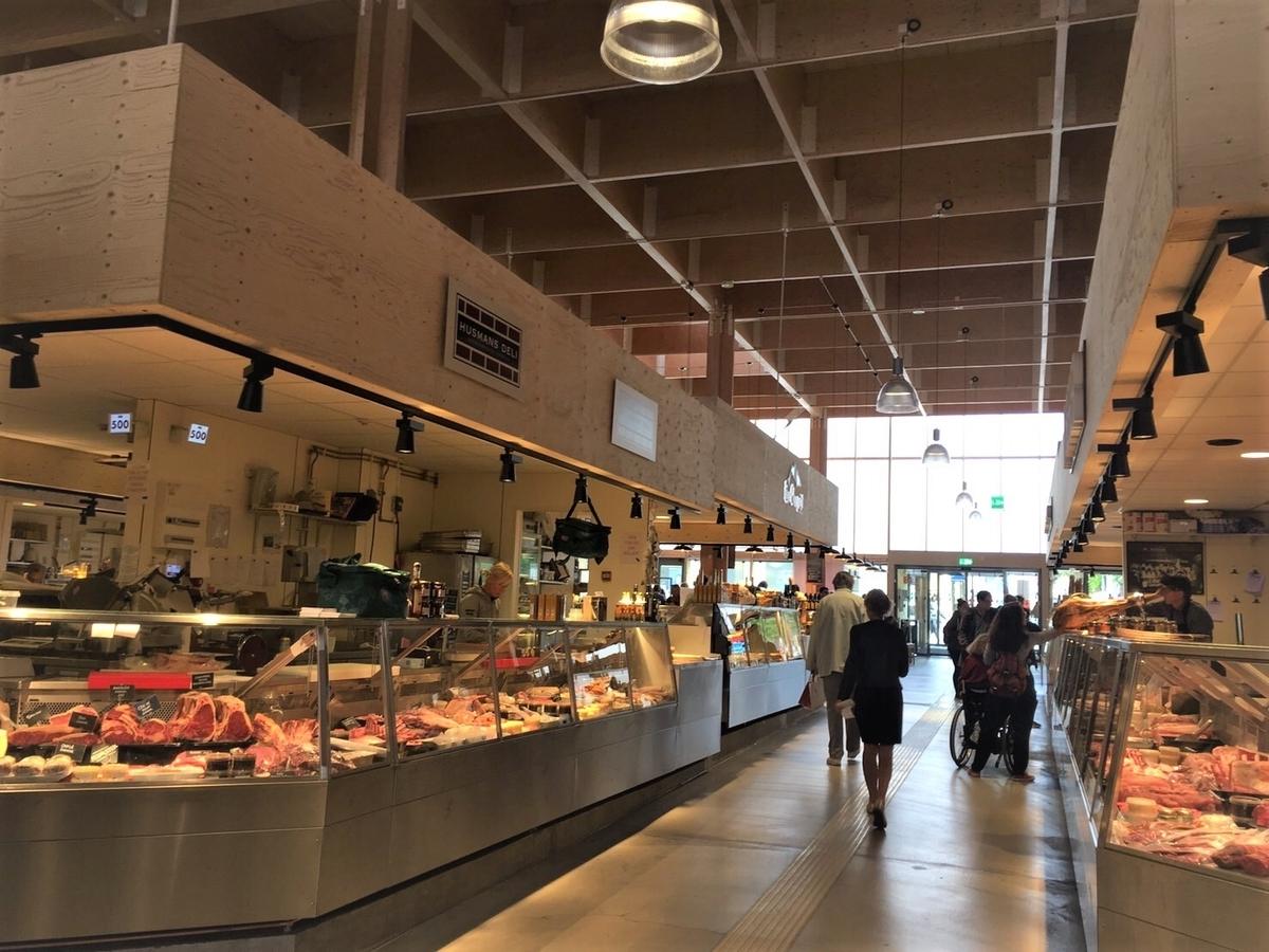 Salu Hall market