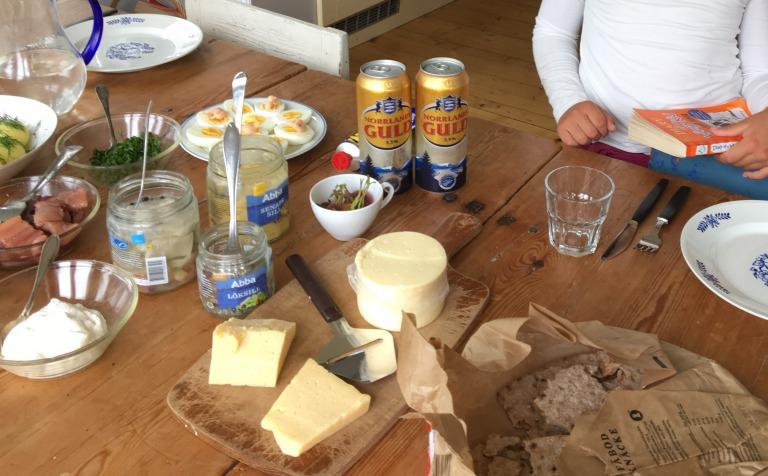 Swedes pickled herring