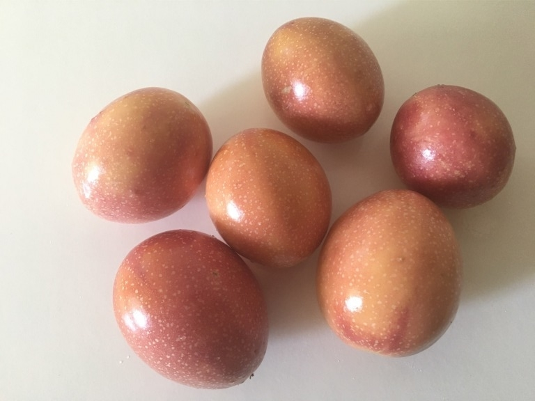 Light red passion fruit