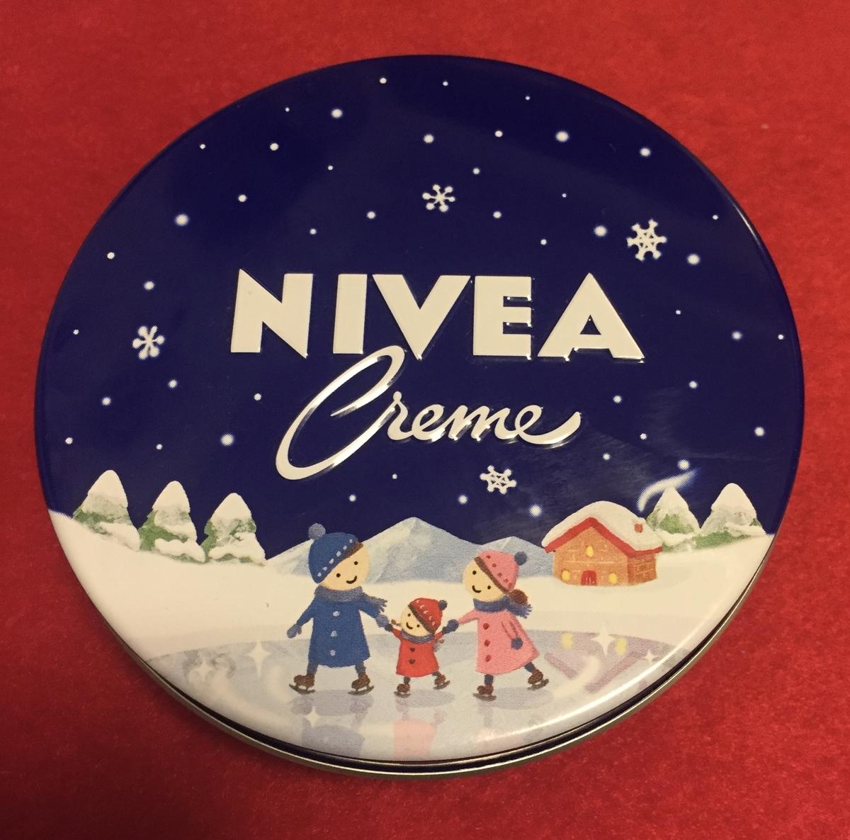 ニベアクリーム 青缶 画像