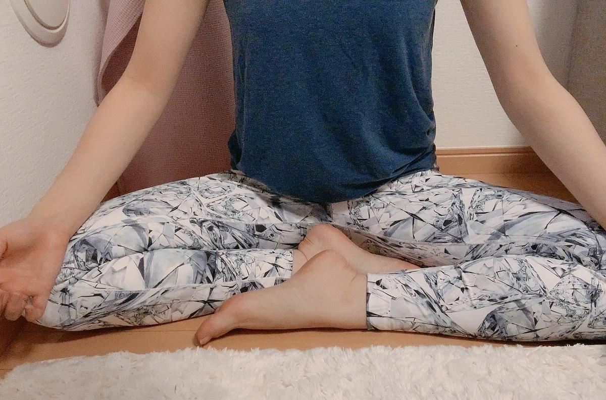 ヨガ 呼吸法の姿勢 スカーサナ