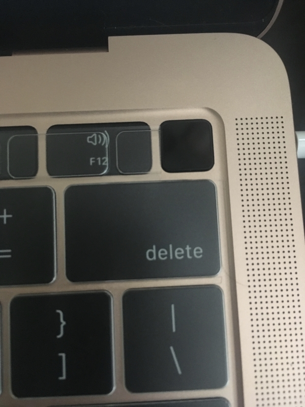 Mac キーボードカバー
