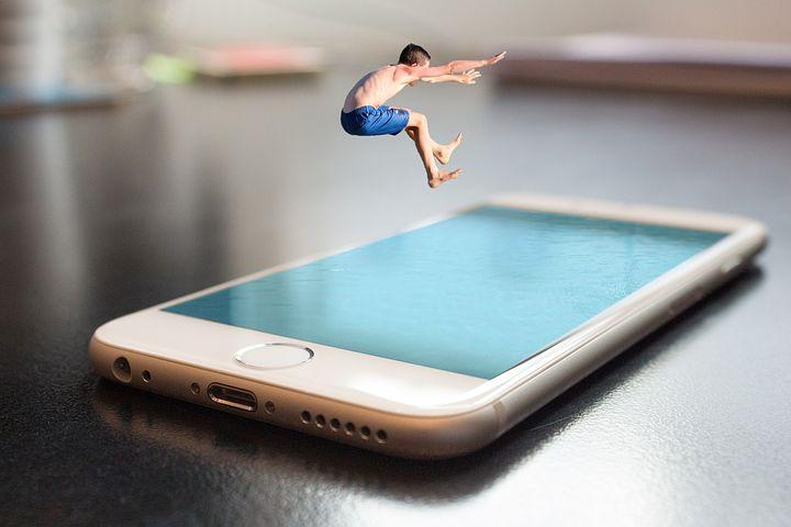 iPhone 画面 酔う