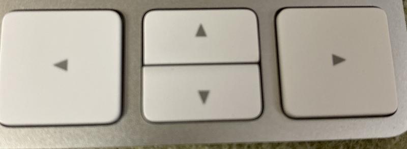 マジックキーボード 矢印