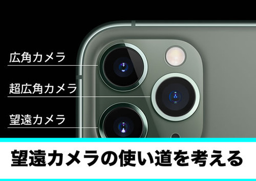 iPhone11 望遠カメラ 使い道 使い方