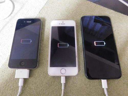 iPhone 比較 バッテリー
