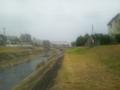 [川と橋]大栗川より多摩モノレールを望む