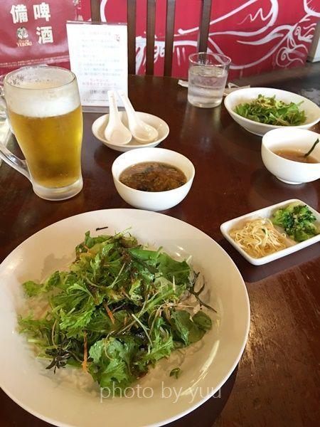 チャイナワンのサラダ