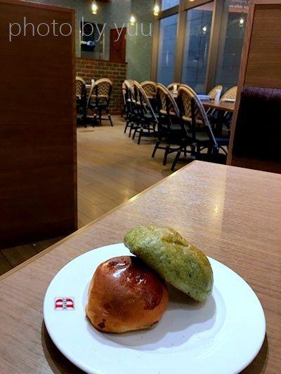 ベーカリーレストランBAQETのパン食べ放題