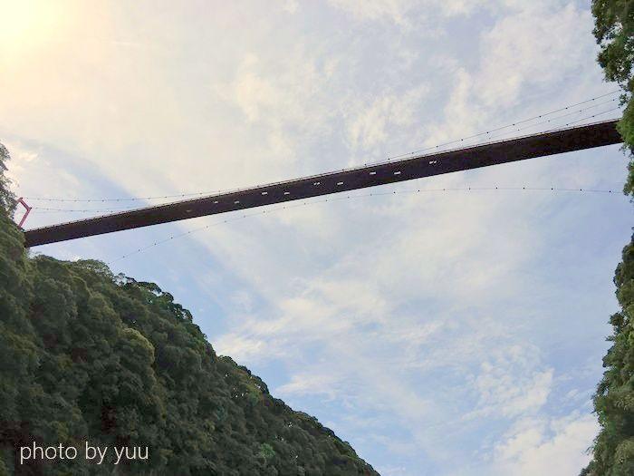 大滝公園の吊り橋
