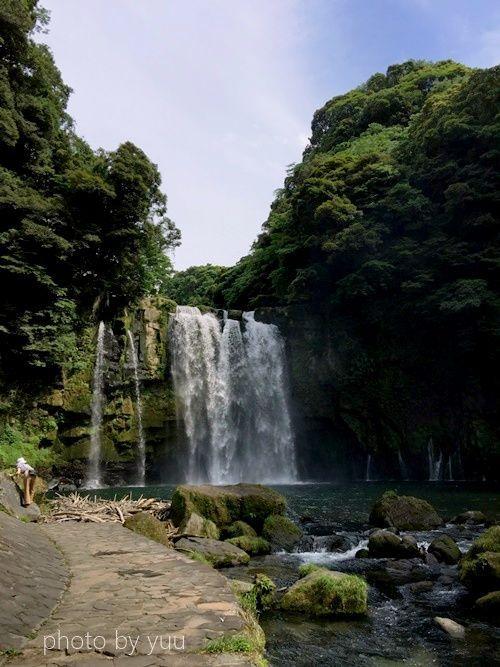 鹿児島の滝スポット