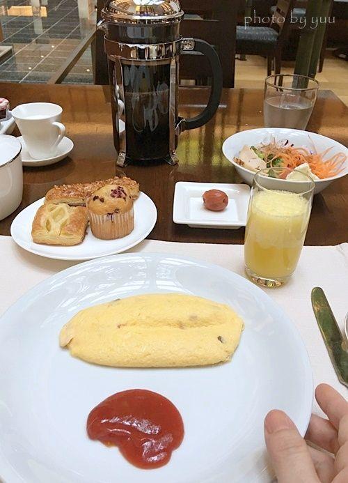 ストリングスホテル東京インターコンチネンタルの朝食ビュッフェ