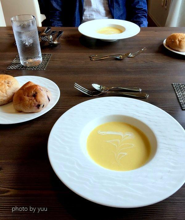 フレンチレストランスープ