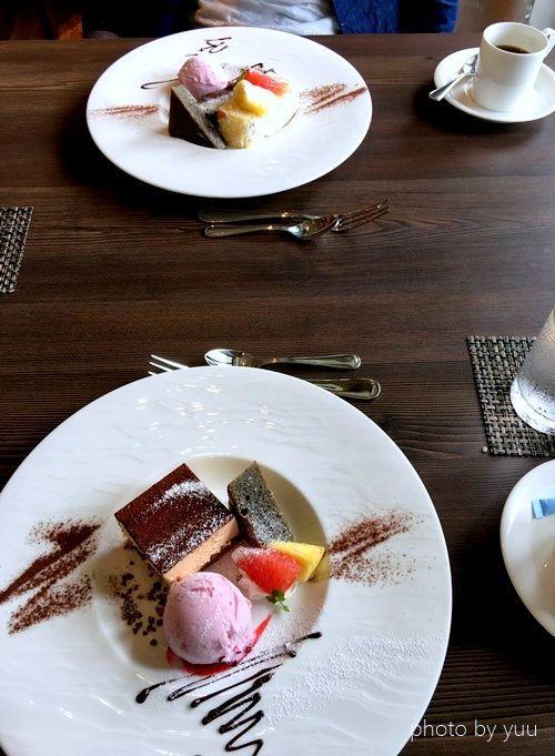 フレンチレストランのデザート