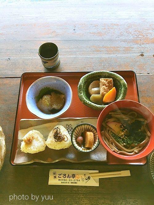 松葉ごろん亭の定食