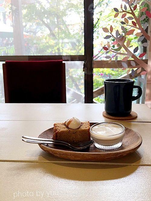 霧島の古民家カフェオリーブの木ランチのデザート