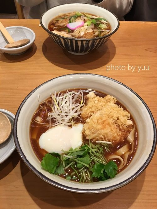 きしめんを名古屋駅で食べたオススメメニュー