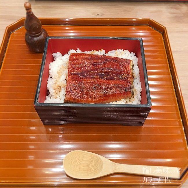 寿司和食なかむらのランチうな丼