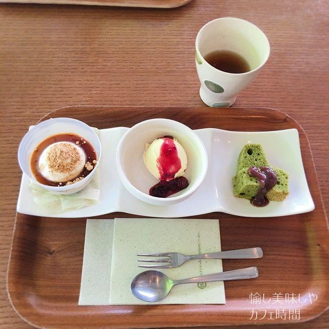 Green Tea Fielsのデザート