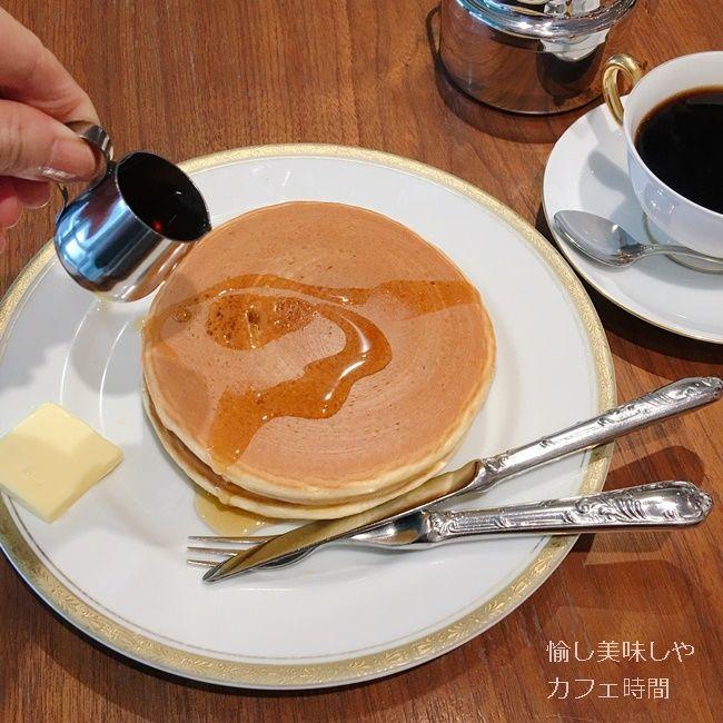 丸福珈琲店のパンケーキ