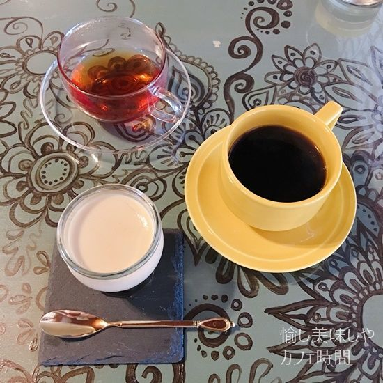 茶々の助珈琲プリン