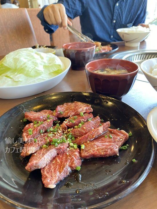 焼肉ヨコムラのハラミランチ