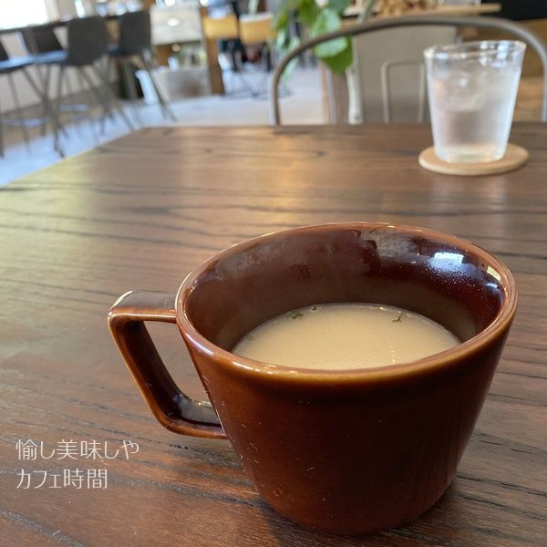 Dazzle cafe standのスープ