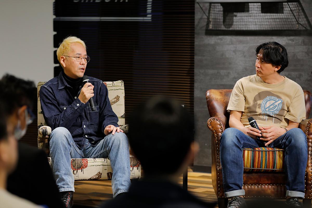 神山監督と川島氏の対談