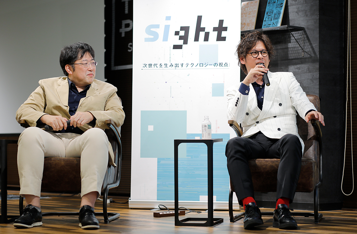 EBILAB小田島氏×トライアル古賀氏