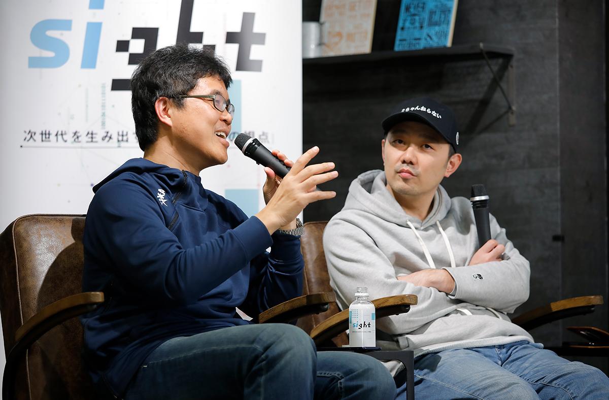 コルク佐渡島庸平氏とJAXA高田真一氏