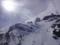雪山を眺める
