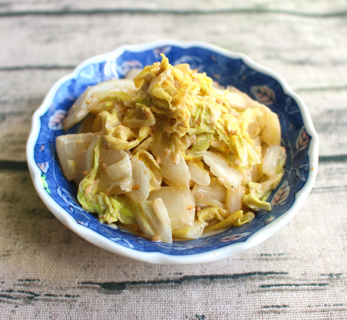 白菜ごまポンサラダ