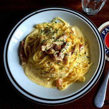 パスタ・麺2位!レンジで濃厚カルボナーラ