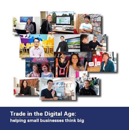 "The Asia Internet Coalition のレポート""Trade in the Digital Age: helping small businesses think big""に掲載"
