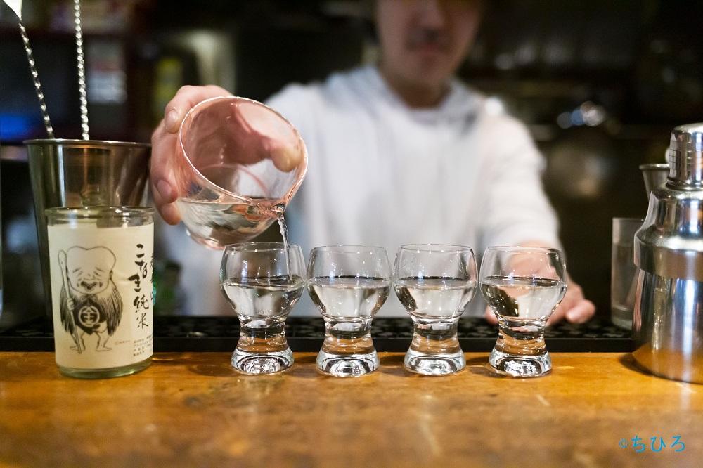 恵比寿日本酒 バー