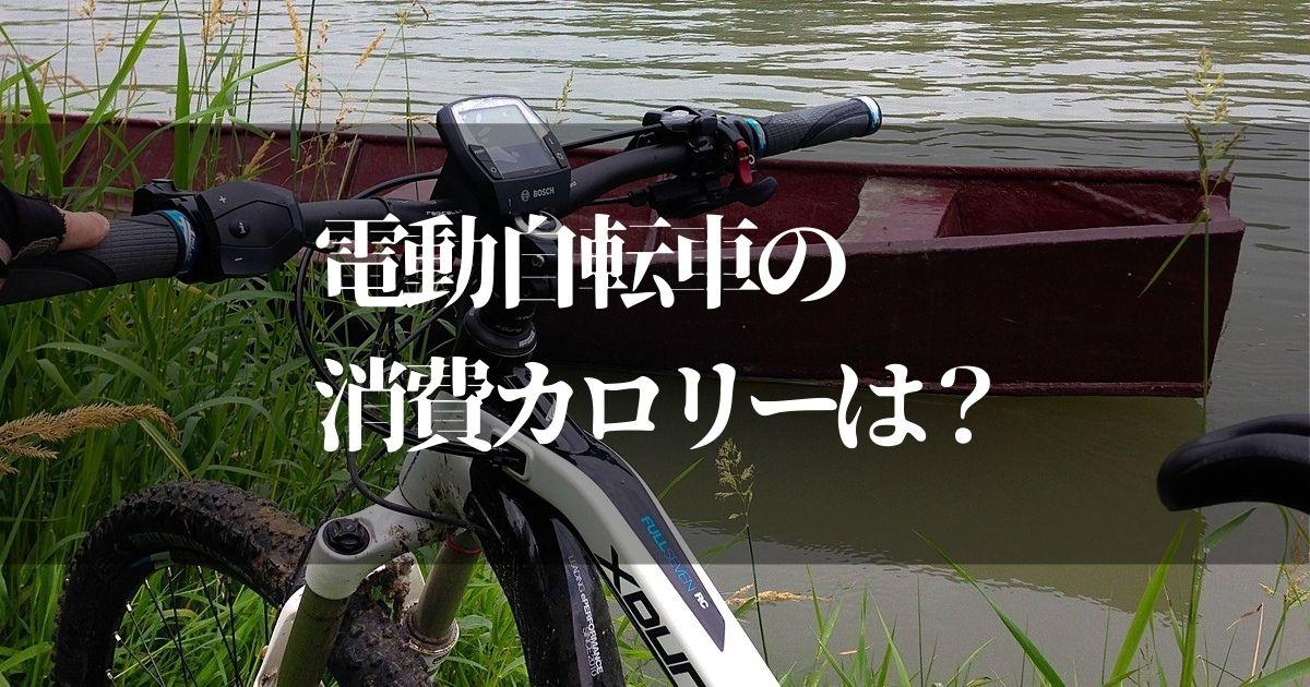 電動自転車の消費カロリーで痩せるの?!【時間と距離の目安を解説】
